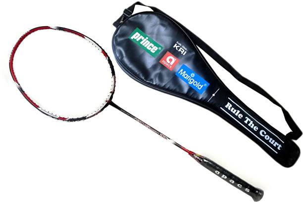 13e1cdd9859 APACS Apacs Feather weight 100 Badminton racquet(unstrung) With Free Bag  Multicolor Unstrung Badminton
