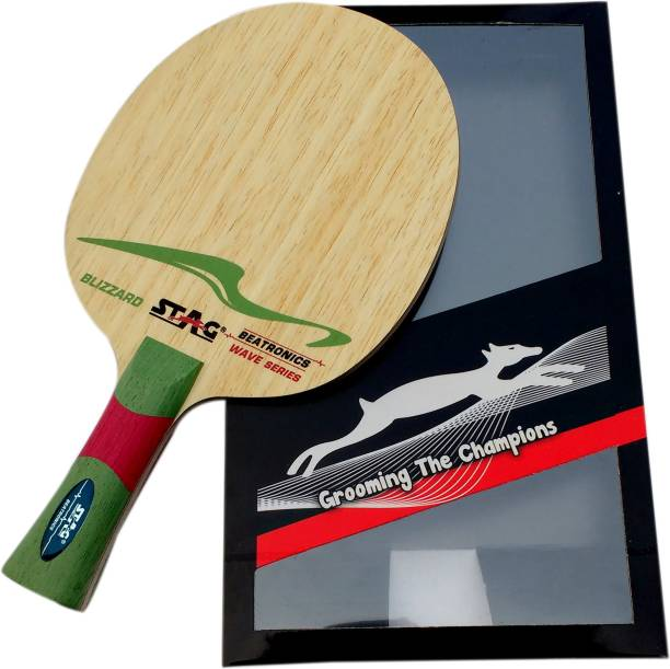 STAG BEATRONICS WAVE SERIES (BLIZZAD) Brown Table Tennis Blade