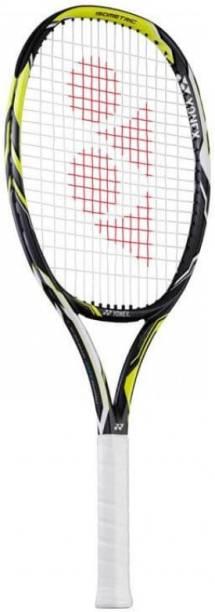 YONEX Ezone DR RALLY Black, Yellow Strung Tennis Racquet