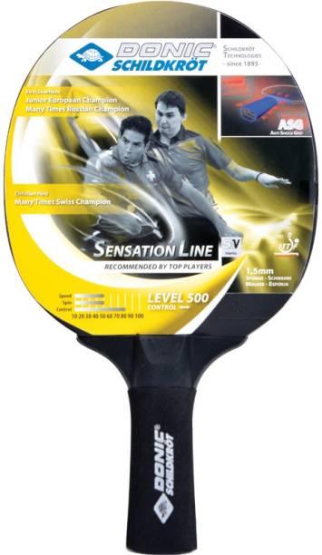 DONIC Sensation 500 Black Table Tennis Racquet