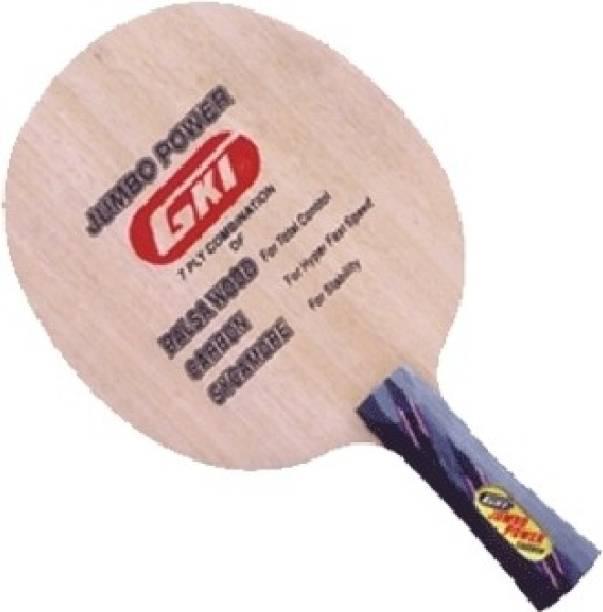 GKI NEW JUMBO CARBON Table tennis Beige Table Tennis Blade