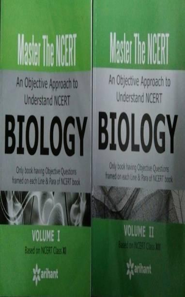 Master The Ncert Biology Vol - 1 , 2 Cbse Class 12th