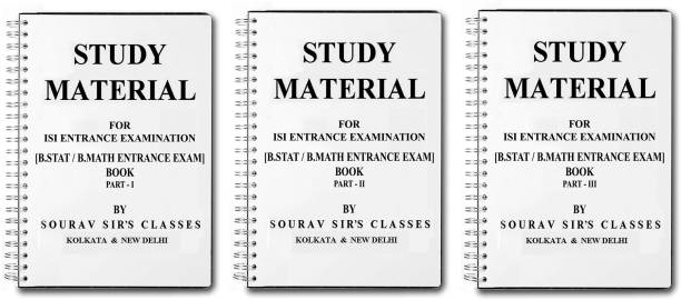 Study Material For Isi Entrance Examination B.Stat , B.Math
