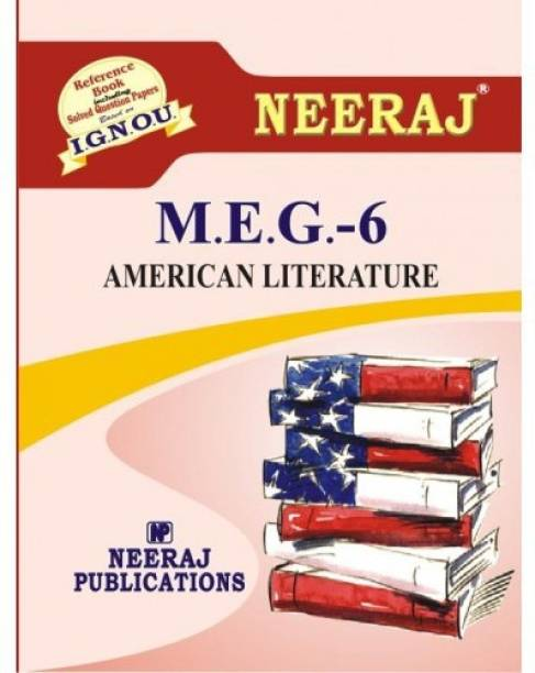 IGNOU MEG-6 American Literature  (Including Solved Question Papers)