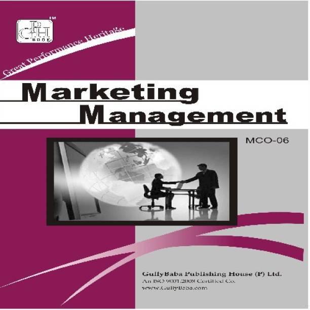 MCO-6 Marketing Management (IGNOU)