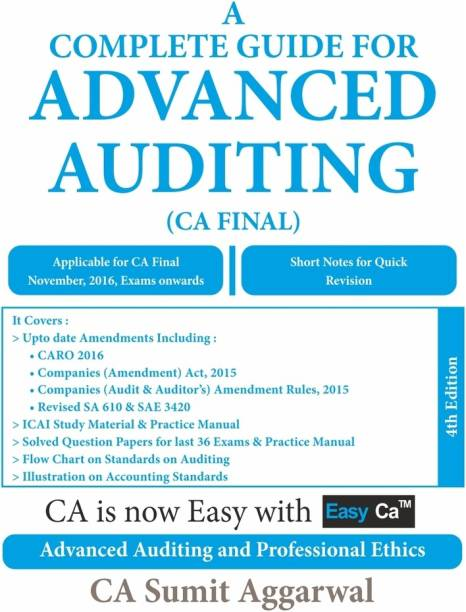 A Complete Guide For Advanced Auditing - CA Final_4th Edition