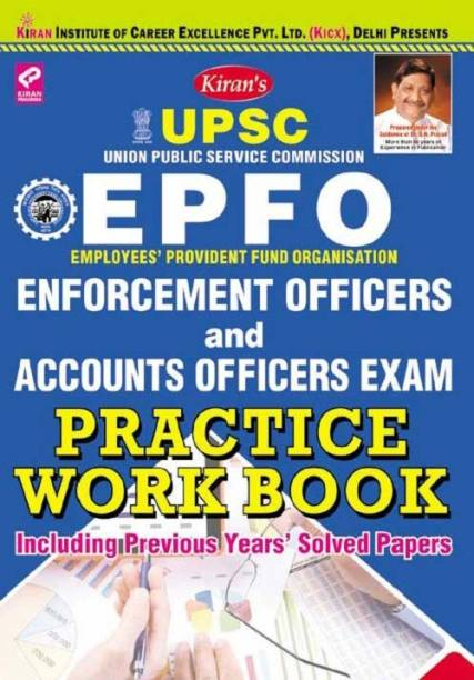 Upsc Epfo Enforcement Officers Accounts Officers Exam, Practice Work Book —english