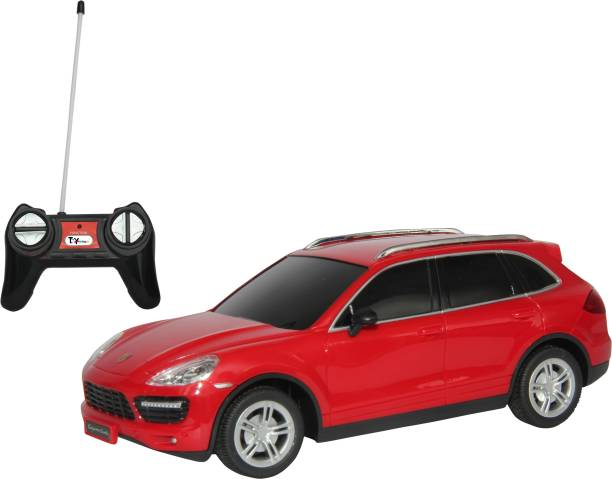 Toyhouse 1:24 Porche Cayenne Rechargeable Rc Carr (Red)