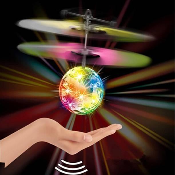 GRAVITY Sensor Disco Flying Ball Best Gift Palm UFO Mini UAV