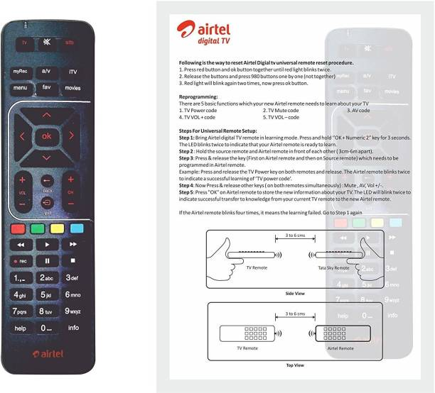 Airtel Remote Controllers - Buy Airtel Remote Controllers
