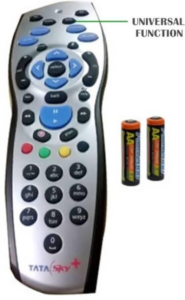 Tata Sky HD+ PLUS ORIGINAL UNIVERSAL WITH USER MANUAL TATA SKY HD+ PLUS, TATA SKY HD Remote Controller