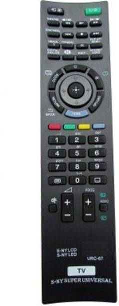 SONY Remote Controller Radhikacomnet Sony Bravia Universal LcdLed URC-67 Remote Controller SONY Remote Controller