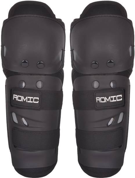 romic Romic Knee and Elbow Guard Knee Guard Free Black