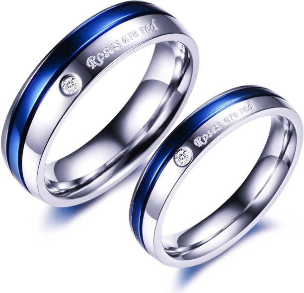 ae2def6c5e1252 Love Couple Rings - Buy Fancy Love Rings online at Best Prices in ...