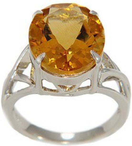 citrine diamond rings ring gemstone lovely