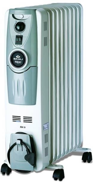 BAJAJ Majesty RH9 F Plus Oil Filled Room Heater