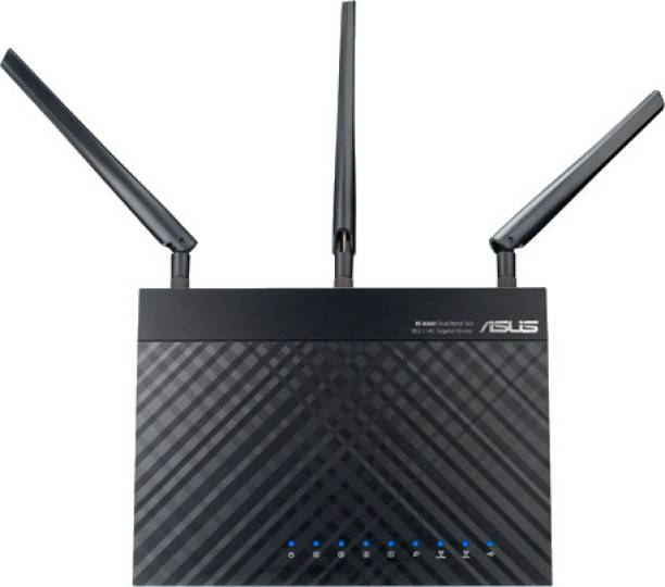 Asus RT-AC66U 802.11ac Dual-Band Wireless-AC1750 Gigabit Router