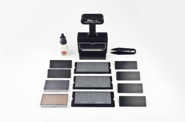 Shiny Self Inking Printing Making S 600 Rubber Stamp Kit