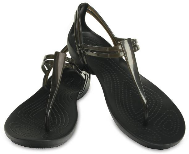 CROCS (Isabella) Women Black Flats