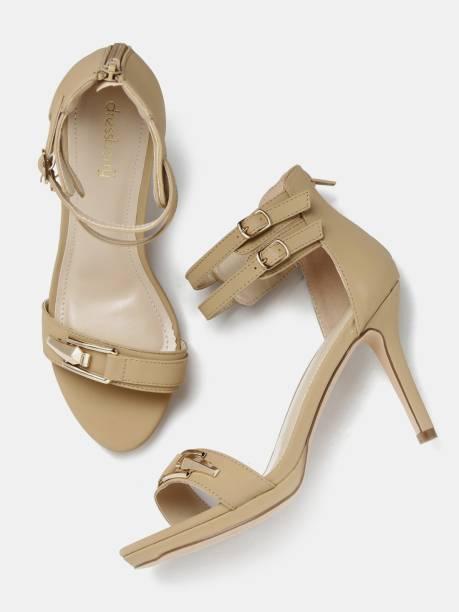 6c10c78ac8e7 Dressberry Heels - Buy Dressberry Heels Online at Best Prices In ...