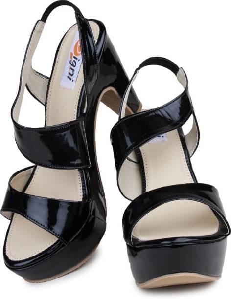 Digni Women Black Heels
