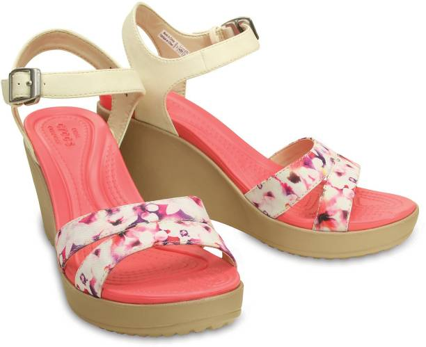db48ca997a5ec9 Crocs Wedges - Buy Crocs Wedges For Women Online at Best Prices in ...