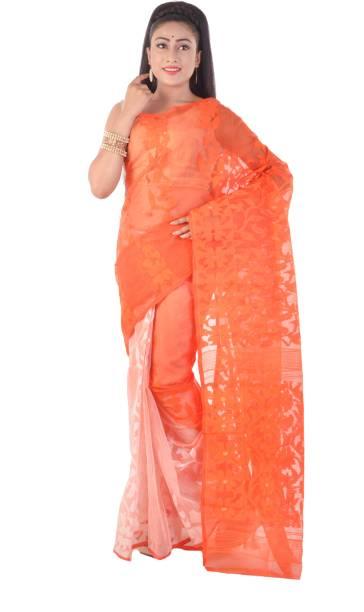 9b31a0b03d2 Jamdani Sarees - Buy Jamdani Dhakai Sarees Online at Best Prices In ...