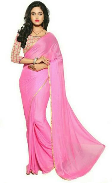 6a868f396 Plain Sarees Online - Buy Plain Simple Sarees With Designer Blouse ...