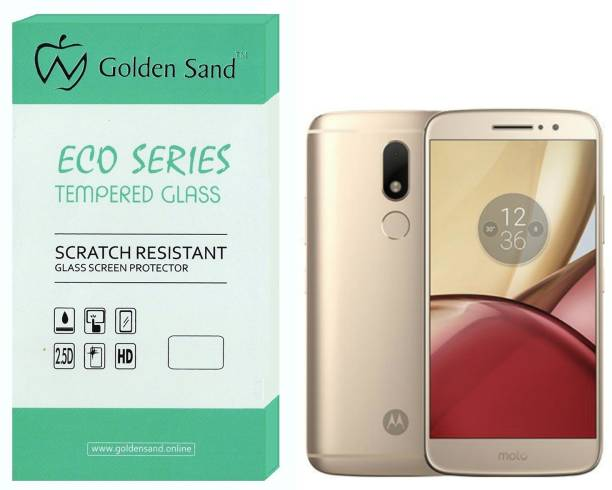 Golden Sand Screen Guard for Motorola Moto M