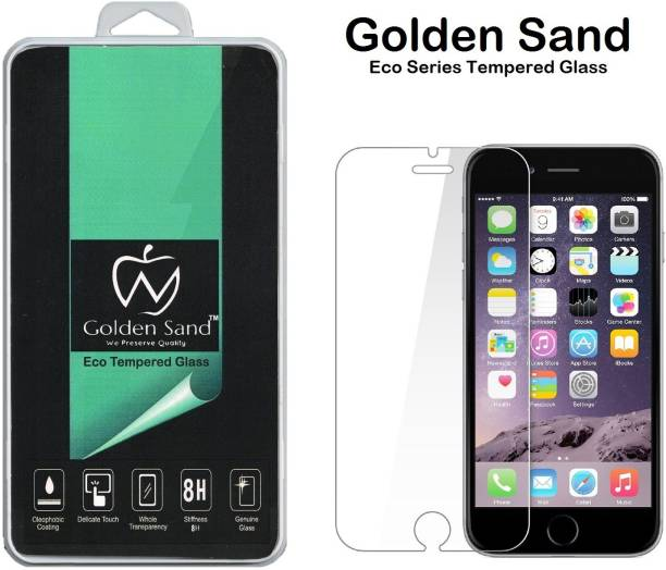 Golden Sand Tempered Glass Guard for Apple iPhone 6, Apple iPhone 6s