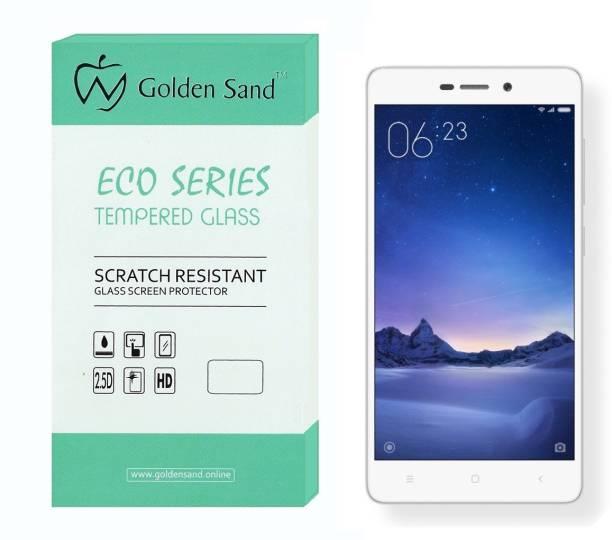Golden Sand Tempered Glass Guard for Mi Redmi 3S, Mi Redmi 3S Prime