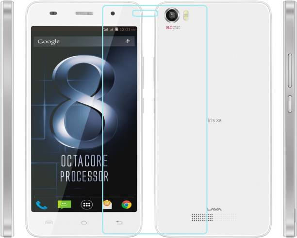 AMETHYST Tempered Glass Guard for Lava Iris X8