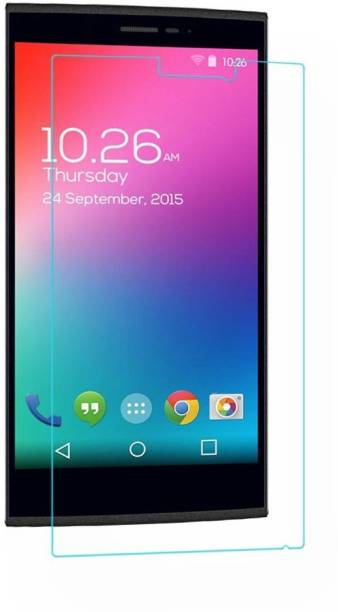 MOBIVIILE Tempered Glass Guard for Micromax Canvas Spark 2 Q334