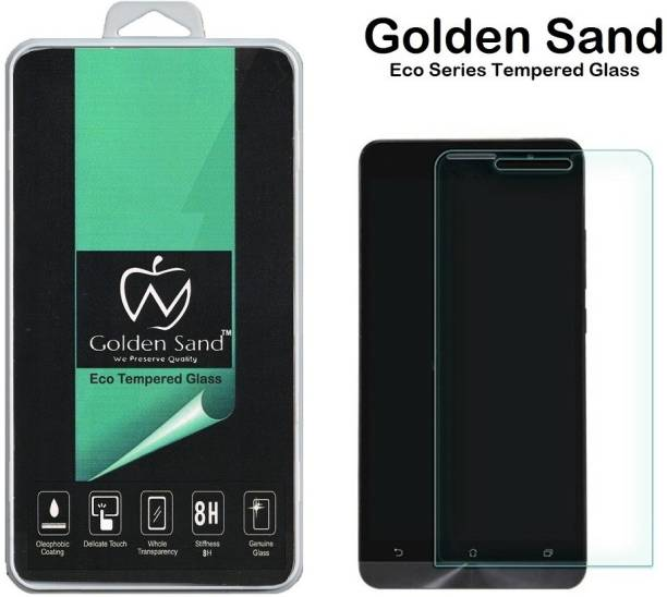 Golden Sand Tempered Glass Guard for Asus Zenfone 5 Dual Sim