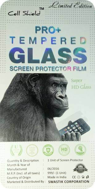 CELLSHIELD Tempered Glass Guard for MICROMAX CANVAS SPARK 2 Q334