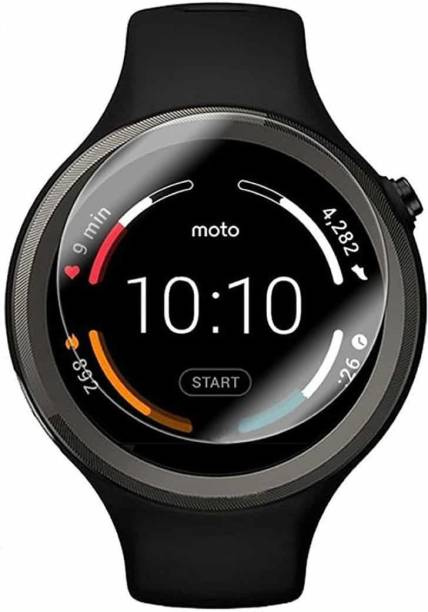 iZAP Tempered Glass Guard for Moto 360 (Sport) Smartwatch (45mm)
