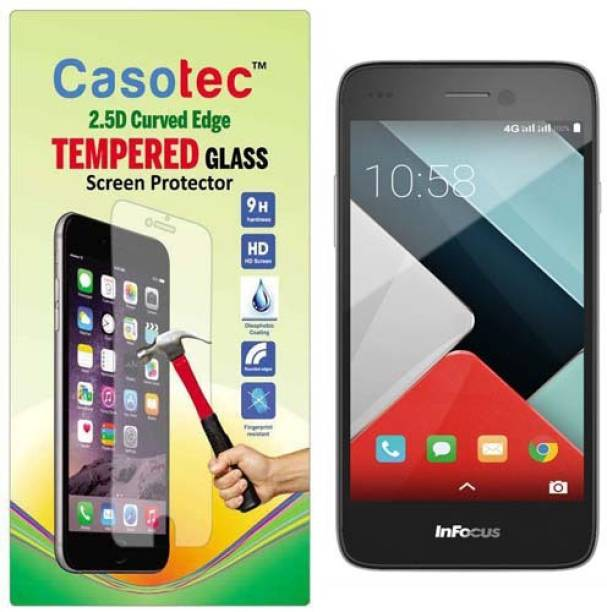 Casotec Tempered Glass Guard for InFocus M350