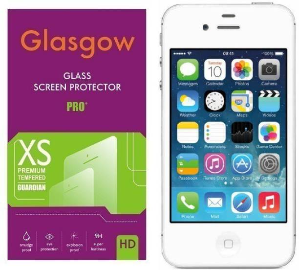 Glasgow Tempered Glass Guard for Apple iPhone 4