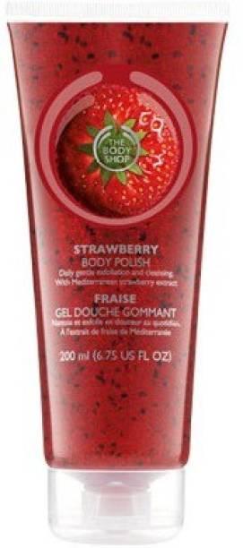 THE BODY SHOP Strawberry Polish  Scrub