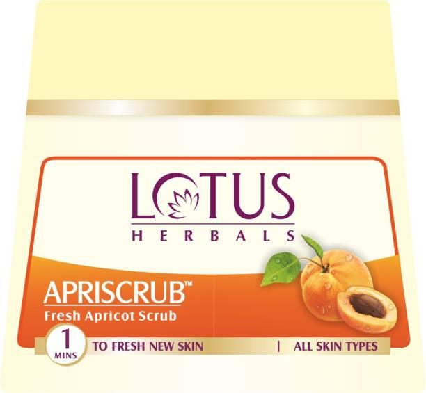 LOTUS HERBALS Apriscrub Fresh Apricot  Scrub
