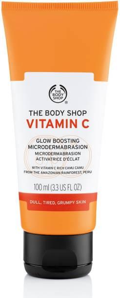 THE BODY SHOP Vitamin C Glow Boosting Mircodermabrasion Scrub
