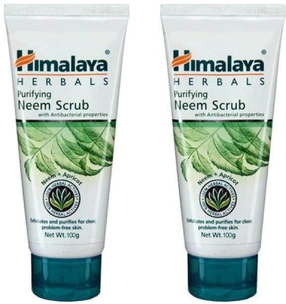 Himalaya Herbals Purifying Neem Scrub (Pack of 2) Scrub