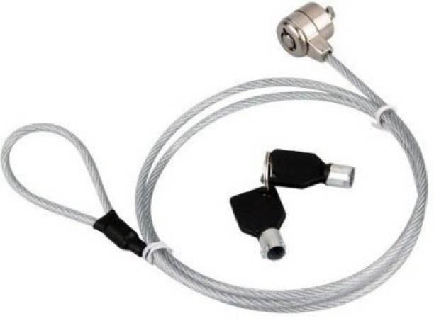 De-TechInn Laptop / Notebook Security Key Lock Steel Cable TC1056