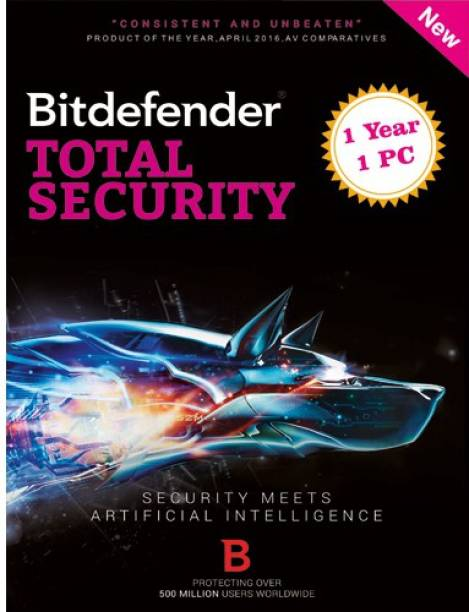 bitdefender Total Security 1.0 User 1 Year