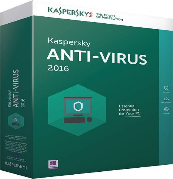 Kaspersky Anti-virus 3.0 User 1 Year