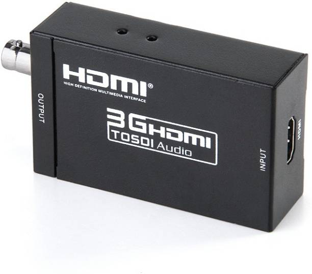 Smart Tech HDMI to SDI Converter with audio Media Streaming Device