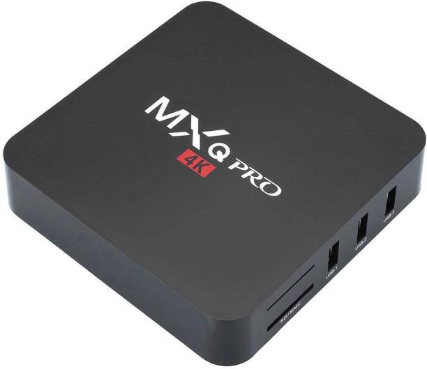 MXQ PRO 4K Amlogic S905 Quad Core 64Bit Android TV Box 5.1 OS KODI Jarvis H.265 HDMI 2.0 WIFI 1G RAM 8G ROM Media Streaming Device