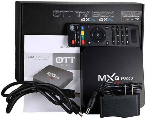 MXQ PRO 1GB RAM 8GB ROM Android TV Box Media Streaming Device