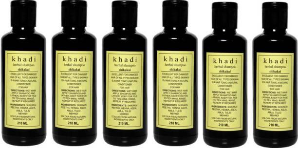 Khadi Herbal Herbal Shikakai Shampoo - Family Pack