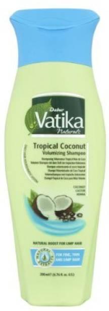 Dabur 200ml Vatika Tropical Coconut Voumizing